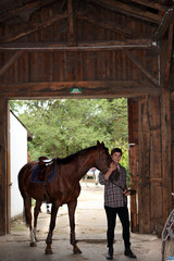 Horseriding center