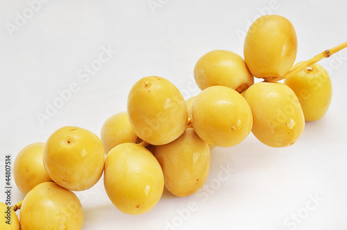 fresh dates as jewish new year symbol