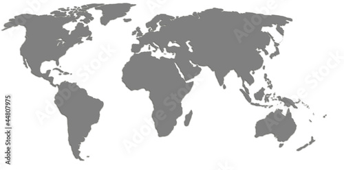 High quality world map