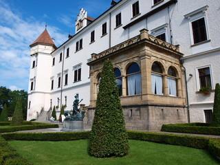 Castle and garden, Konopiste, Czech Republic