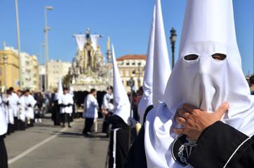 Semana Santa en Cádiz,Andalucia,España