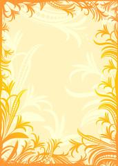 Decorative floral background.