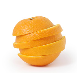 orange slices juice