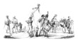 Napoleonian Wars : a Scene - 18th/19th century