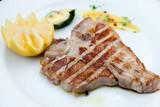 Florentine steak poster
