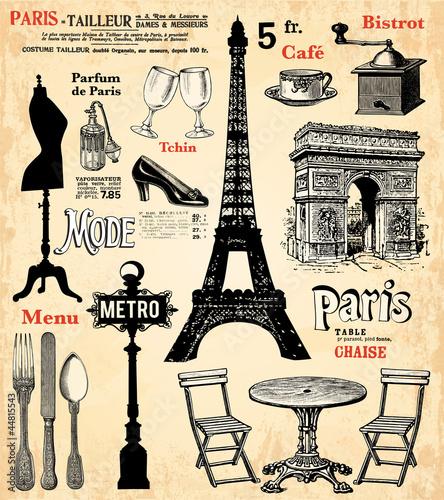 Fototapeten,paris,frankreich,eiffel tower,arc de triomphe