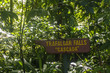 Sign Pointing to Trafalgar Falls on Dominica