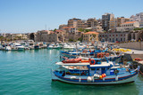 Heraklion harbour. Crete, Greece