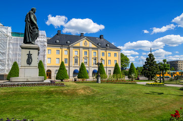Statue of Carl XIV. Norrkoping, Sweden