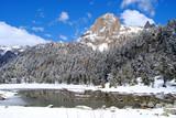 Fototapety Pico del Parque Nacional Aigüestortes y Estany de Sant Maurici.