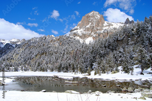 Pico del Parque Nacional Aigüestortes y Estany de Sant Maurici.