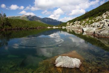 "Mirror lake ""Cierne pleso"" (""Black Tarn"") - Slovakia"