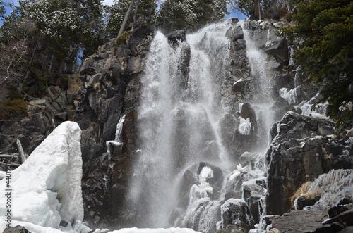 Cascada de la Ratera . Parque Nacional Aigüestortes.