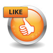 """LIKE"" Web Button (thumbs up recommend comment vote share send)"