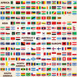 Flags of the world, pack world flags - 44820744