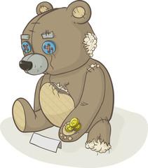 homeless bear