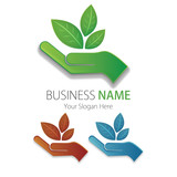 Business (Company) Logo, Bio, Eco, Vector