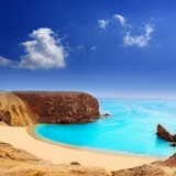 Fototapeta niebieski - przezroczysty - Plaża