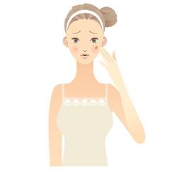スキンケア 女性 顔 にきび