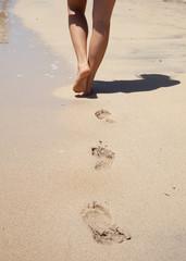 Spuren am Strand I
