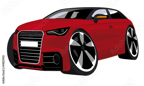 cartoon car illustration