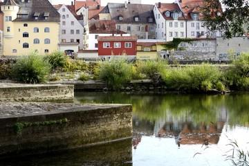 Regensburg - Ratisbona - Lungo Danubio