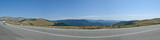 Panorama from the road Transalpina
