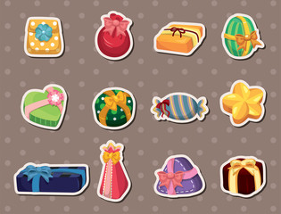 cartoon gifts stickers
