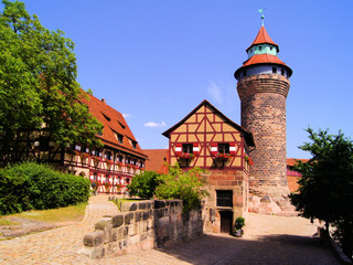 Medieval Nuremberg Castle, Germany