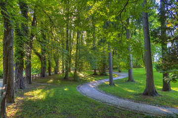 tivoli park,Ljubljana,Slovenia