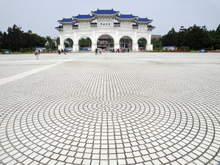 Entrance of CKS memorial hall