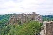 Panoramic view of Calcata. Lazio. Italy.