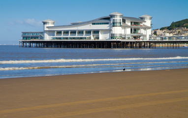 Weston-super-Mare beach and seafront