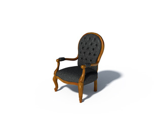 old retro classic chair