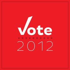Minimalist Vote 2012 Poster