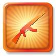 orange weapons icon