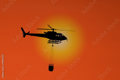 Elicottero antincendio - Fire protection helicopter