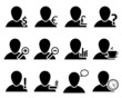 Office and people icon set0
