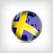 Schweden Globus
