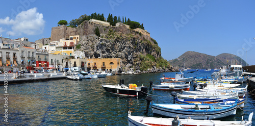 Leinwanddruck Bild Lipari Island