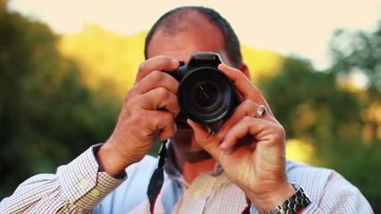 Photographer Frames Shot
