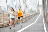 Fototapety Runners