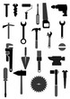 Set Werkzeugicons