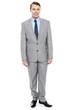 Full length portrait of professional businessman