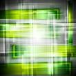 Bright green vector backdrop
