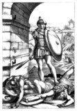 Antiquity : Victorious Roman Soldier