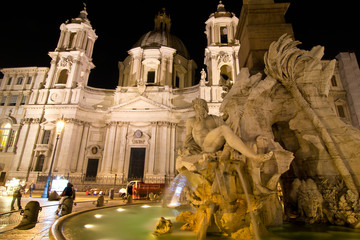 Piazza Navona by night (Rome,Italy)