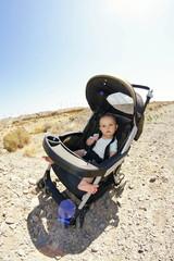 Kinderwagen Offroadtour