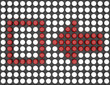 Red Check Mark Made by Sphere Arrays
