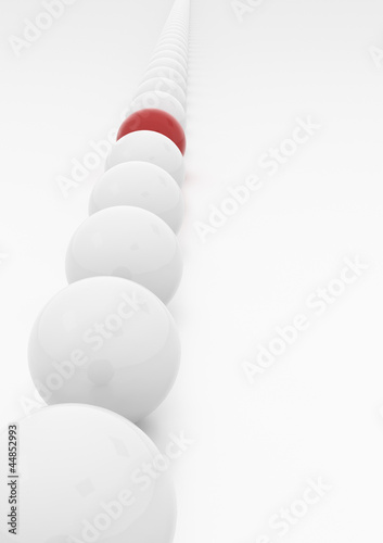 Stand Out from the Crowd - High quality image with path